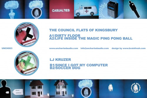 The Council Flats of Kingsbury / LJ Kruzer - Dirty Floor / Since I Got My Computer